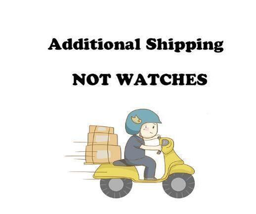 shipping fee, not watch price