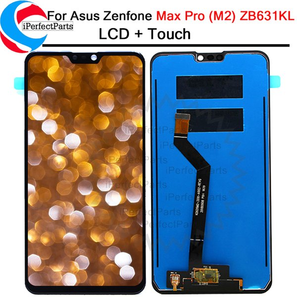6.26'' For Asus Zenfone Max Pro ( M2 ) ZB631KL Full LCD Display Touch Screen Digitizer Assembly replace + tools free shipping
