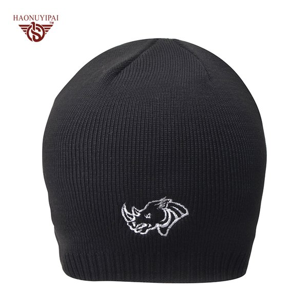 2017 New Design Caps For Men Warm Winter Knitting Skating Hats Skiing Beanies Hat Outdoor Snowboard Fleece Cap 3 Colors CX019
