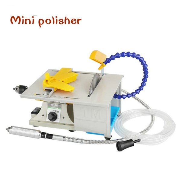 top popular Mini 850W Multifunction Table Saw Stone Polisher Engraving Machine Grinding machine Table Saws Cutting for free 2021