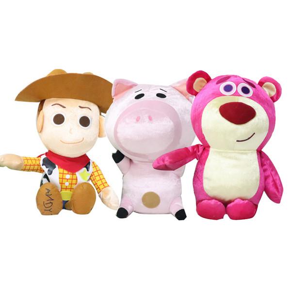 Anime Comics Toy Gifts Kids Anime Plush Toys Kids Toys Boy General Mobilization Cowboy Sheriff Plush Doll Gift 30 CM PP Cotton