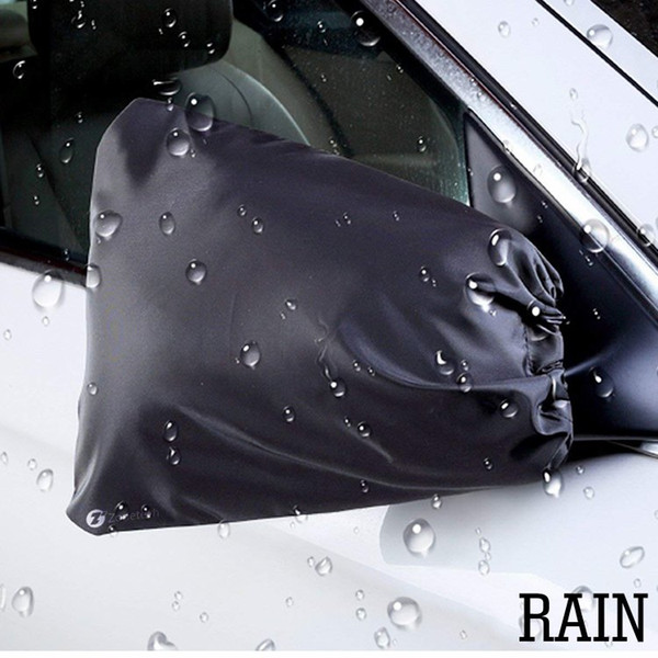 best selling Universal Car Side View Mirror Covers Dust Rain Snow Ice Protective Cover For Cars SUV Truck Van