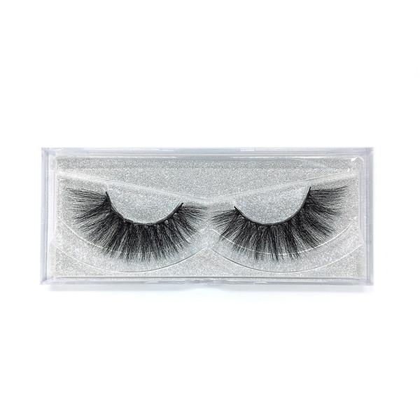A26 The newest A pair of mink false eyelashes cross eyelashes thick hot sales false eyelash ripple silk eyelash