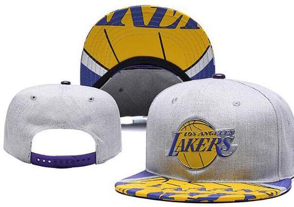 2019 Hats For Man Woman Snapbacks Baseball Hat snapback N Y Flat brim Cap strapback Embroidery Los Angeles 23 James LAL Cap Tide Brand hat