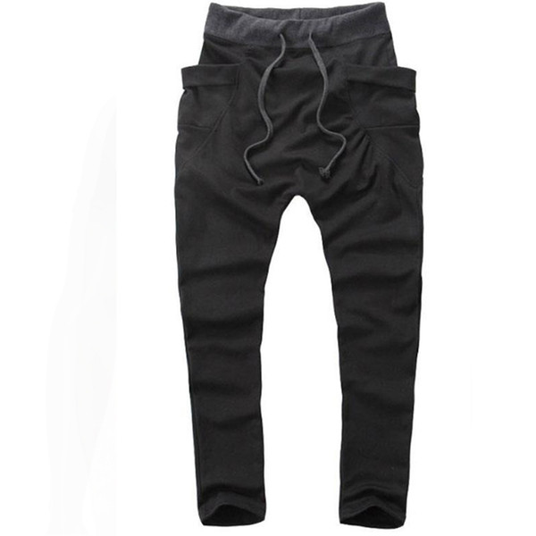 special section in stock best loved 2019 While Joggers 2019 New Pantalon Homme But Pants Mallas Hombre Large  Pockets Sweatpants Jogging Pantalones Xxl From Jc02, $29.72 | DHgate.Com