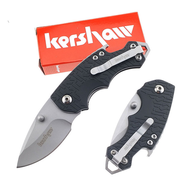 top popular Free shipping Kershaw 3800 Folding Blade Knife Tactical Mini easy carry Outdoor Pocket Knife multi EDC tool Gift Survival resuce Knife 2020