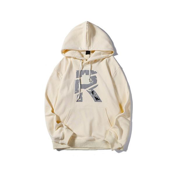 Basit Stil Mens Womens Tasarımcı Hoodies Bluz Hoodies Mektubu R Erkekler için serin Baskılı Moda Rahat Marka Hooy M-2XL Kalite LSY98291