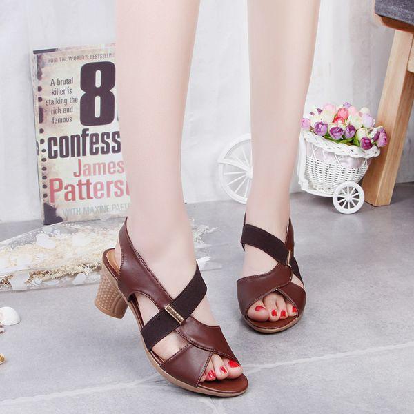 4b4b54e81 Lucky2019 Mujer Buey Zapato de tendón Luz antideslizante Cómodo Parte  inferior suave Cuadrado Un paso de