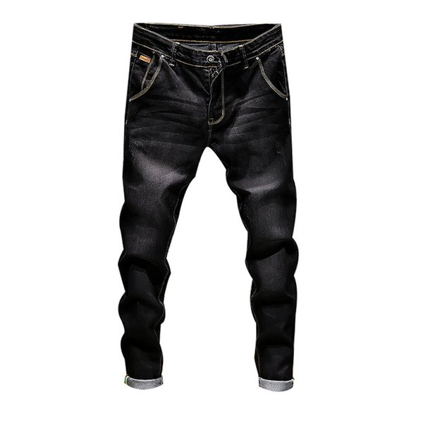 Fashion Men Jeans Brand Slim Fit Casual Skinny Jeans for Men Straight Mens Denim Male Stretch Trouser Pants