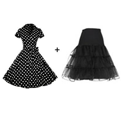 blackdress nd falda