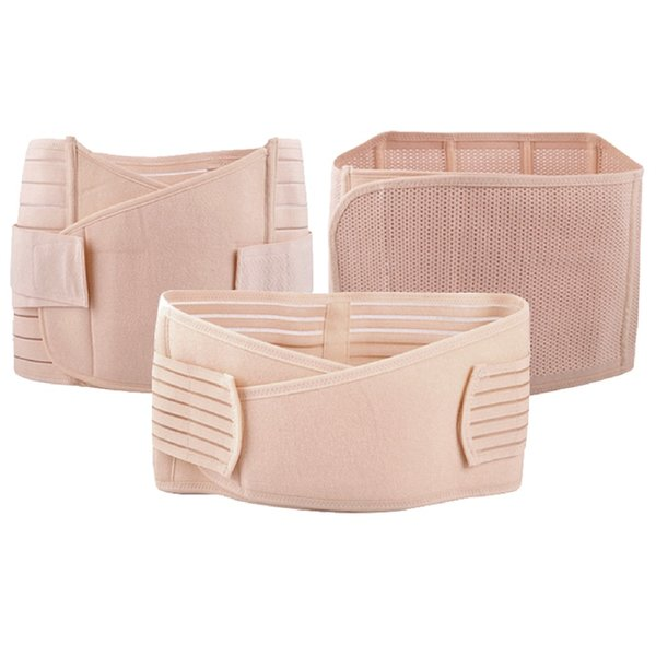 New Hot ! Three-piece set slimming belt sports bodybuilding waist abdomen support protection postpartum recovery #ST1131 #354729