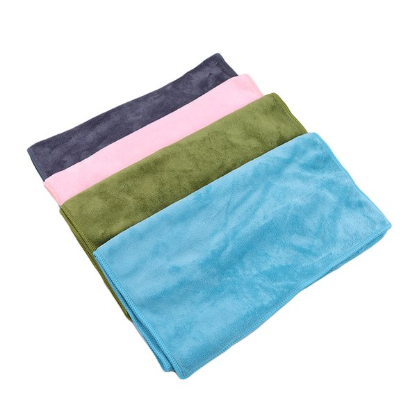 New Useful Large Thick Soft 75x35cm Absorbent Polyester Fiber Beach Drying Bath Washcloth Shower Towel