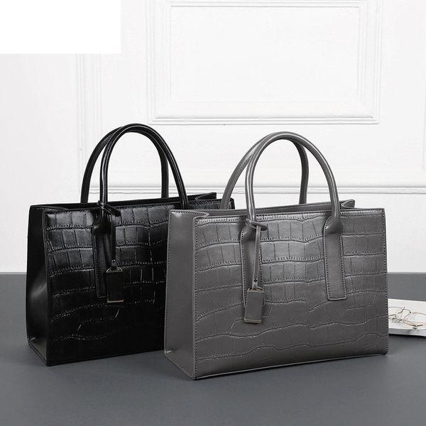 Bonne qualité hiver nouvelle mode sacs à main en cuir de crocodile de haute qualité femmes sac femme sacs à bandoulière Designer Tote Bag Bolsas