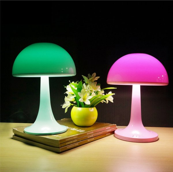 5w Lumières Chevet Rechargeable Nuit Lampe Intérieur Kid Champignons Mignon Table Acheter Control Led Touch Eye De Rvb Friendly Coloré Pat 08nwOPkNX