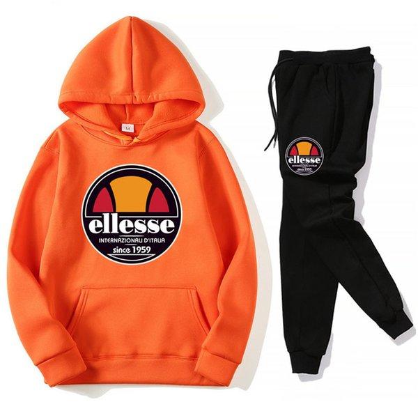 Orange + Noir