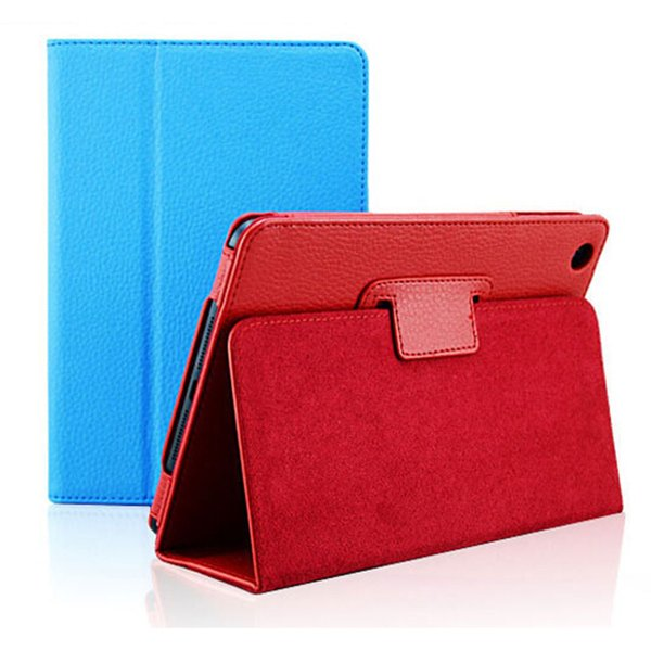 Custodia Apple ipad 2 3 4 mini 1/2/3/4 Auto Pro 11 Flip Litchi in pelle PU per Nieuwe Smart Standhouder Folio Case
