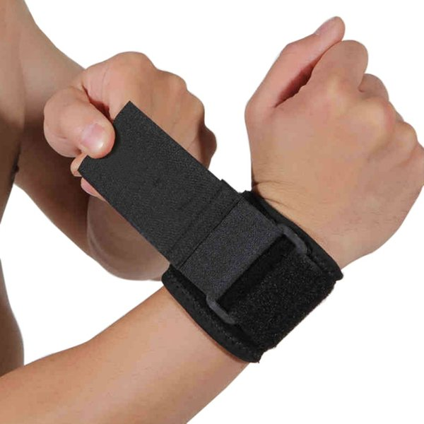 Pressure Wrist Support Rubber Cloth Riding Badminton Fitness Weightlifting Basketball Bracers Sports Protective Wrist Support 2