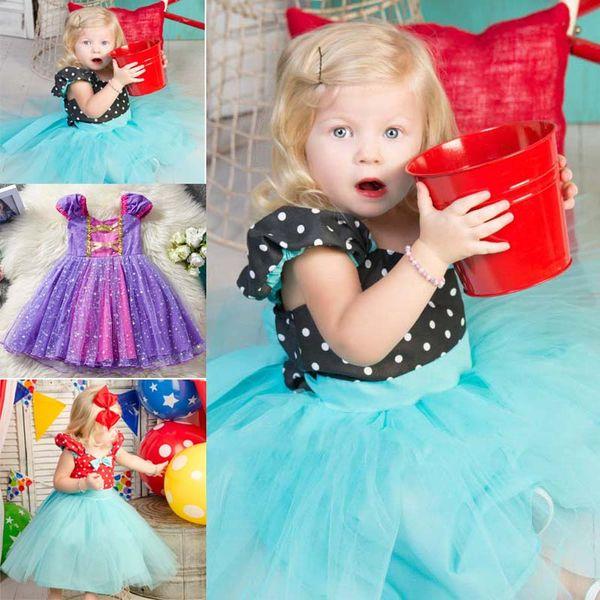 Compre Menina Sofia Vestido Crianças Traje Do Partido Do Aniversário Meninas Vestidos De Natal Do Dia Das Bruxas Extravagante Estrela Crianças Eventos