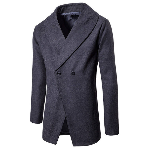 Solid Color Mens Trench Coat Double Buttons Lapel Neck Long Sleeve Mens Outwear Winter Fashion Mens Clothing Fashion Mens Clothing Women Clothing Mens Jeans Pants Hoodies Hiphop ,Women Dress ,Suits Tracksuits,Ladies Tracksuits Welcome to our Store