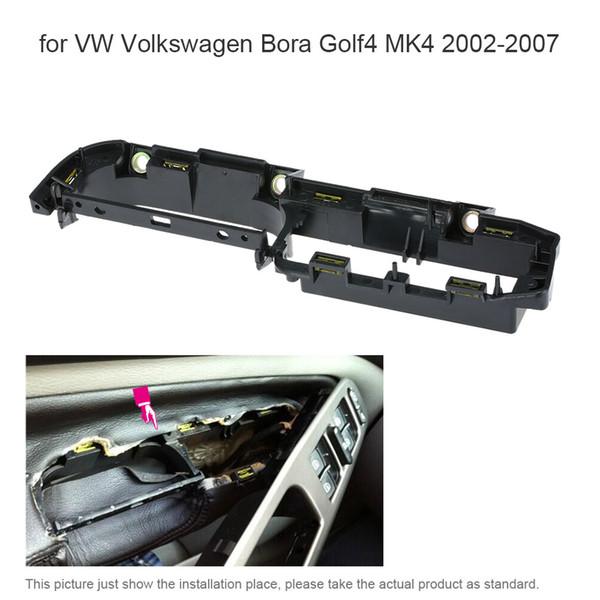 Freeshipping Car Interior Anteriore Sinistro Porta Maniglia Grab Coperchio Pannello Staffa per VW Volkswagen Bora Golf4 MK4 2002-2007