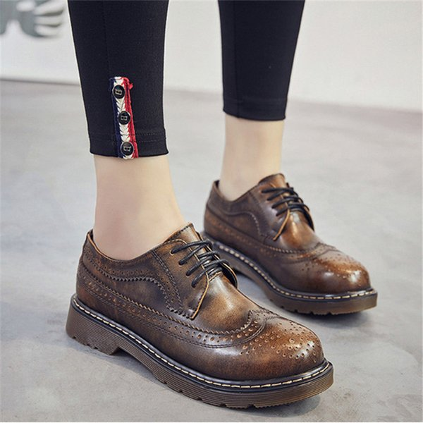 EU 38 LADIES LACE UP METALLIC GREY FLAT BROGUES LOAFERS CREEPERS SIZES UK 5