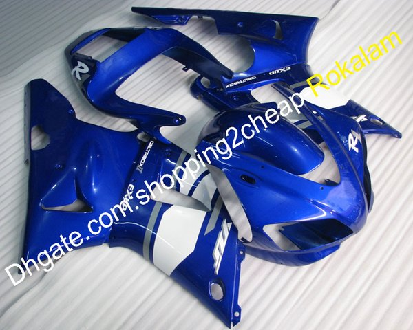 Carenado 98 99 YZF1000R1 Kit de carrocería para Yamaha YZF 1000 R1 1998 1999 Race Motorcycle Blue Fairings (moldeo por inyección)