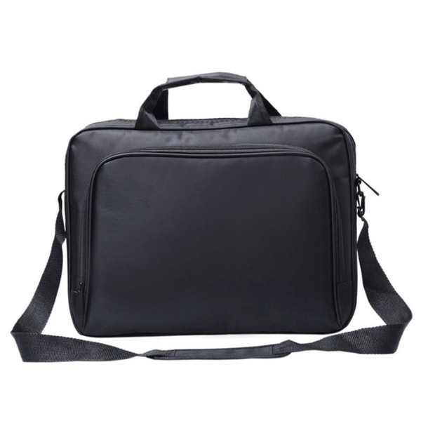 Unisex Nylon Material New Briefcase Bag 15.6 Inch Laptop Messenger Bag Business Office for Men Women