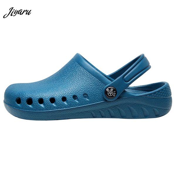 Nouvelle arrivée hôpital exploitation chaussures de travail pour les femmes chaussures de chirurgie médicale médecin infirmière sandales antidérapantes chaussures de travail de chef sandales
