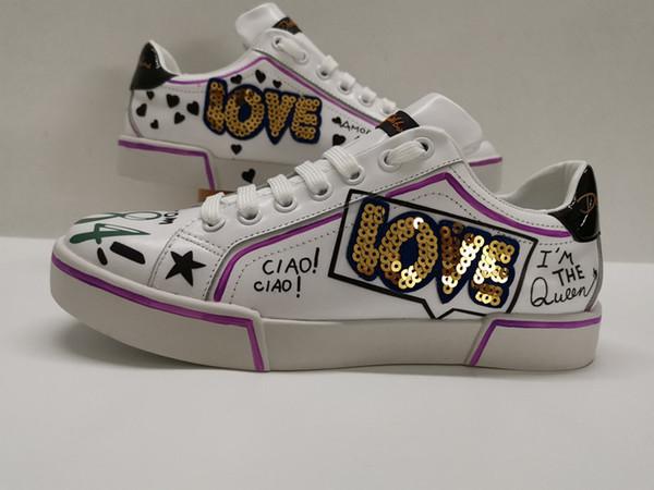 Beat Designer Shoes кроссовки белые кожаные кроссовки на платформе Женские мужские плоские повседневные свадебные туфли на вечеринке Спортивные кроссовки yh19042203
