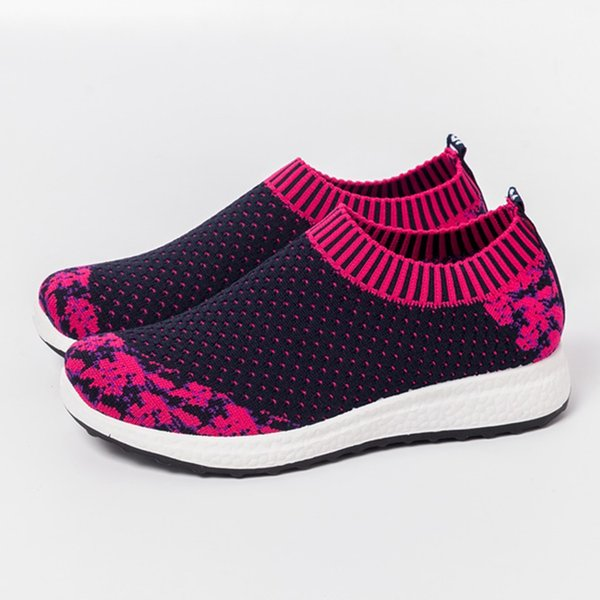 Women's Running shoes Sneakers Breathable Sport Sock Shoes female Summer Trainers Athletic ladies trainers sneakers women wedge