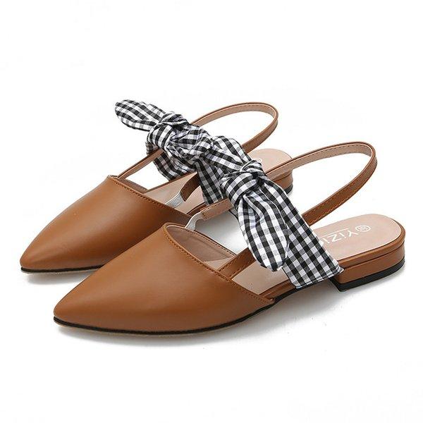 brown sandal women
