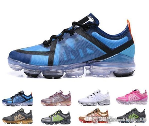 2019 nike air vapormax max Off white Flyknit Utility De Course Medium Olive Bordeaux Crush Designer Hommes Baskets Mode Sportif Designer Sneakers 36-45