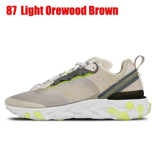 87 36-45 Light Orewood Brown 40-45