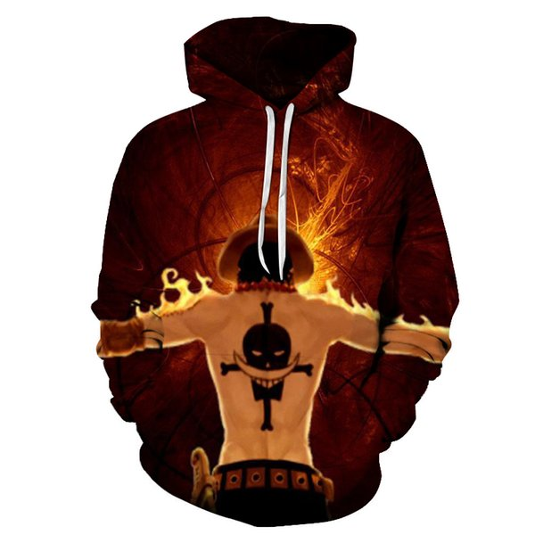 Anime One Piece Luffy 3D Printed Hoodies Men/Women Autumn Long Sleeve Pullover Hat Sweatshirts Streetwear Jacket Hoody Tops Coat