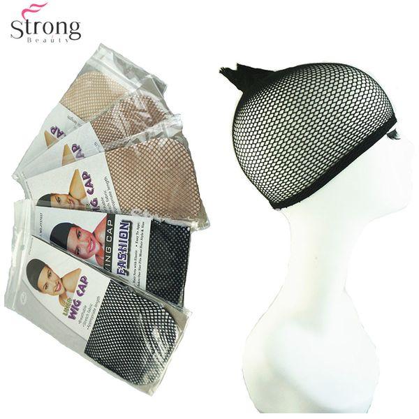 Wigs Hairnets 5PCS/pack Weaving Cap Wig Hair Net Making Caps