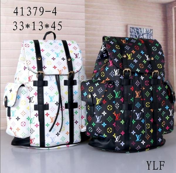 Luxury brand de igner chri topher men backapck tudent houlder bag travel backpack chool bag 13 loui 13 vuitton 06