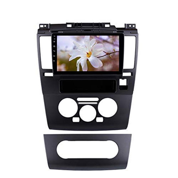 9 Android Ayna Bağlantı SWC Wifi bluetooth müzik ile 2005-2010 Nissan Tiida HD TouchScreen stereo için 9.0 Araç GPS Navigasyon Radyo