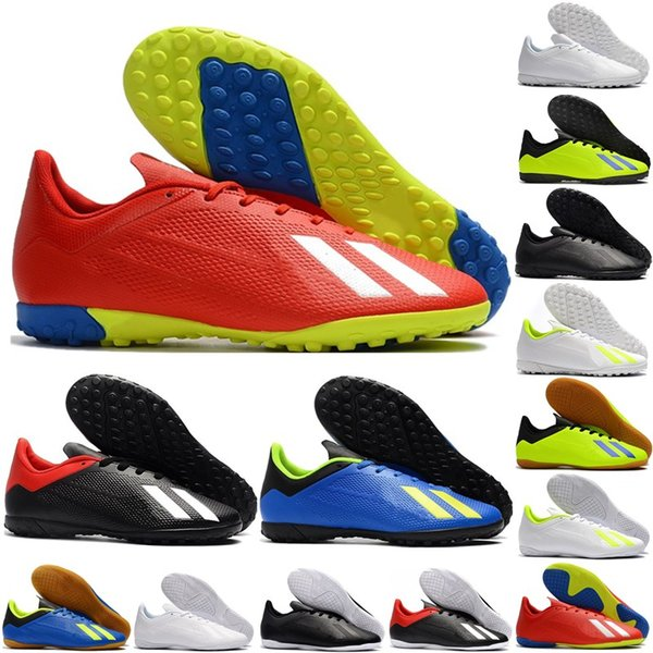 New arrival Mens X Tango 18.4 IC TF Soccer Shoes indoor Football Shoes Boots low top turf Crampons Training sports shoes