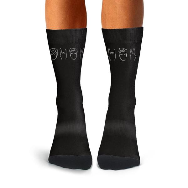 Meninos meias altas Dolan-Twins-Meias de treinamento Comforsoft meias de algodão