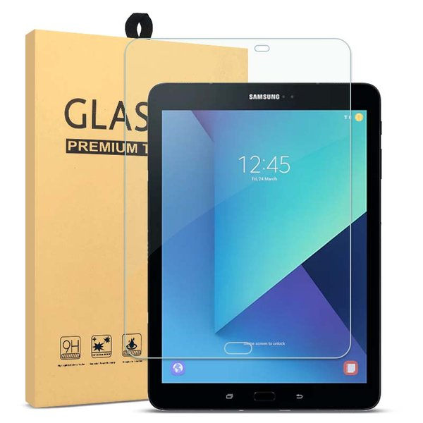 Samsung Tablet Tempered Glass Screen Protector For Samsung Galaxy Tab S3 9.7 T820 Screen 9H Hardness Real 0.33mm Straight Edge