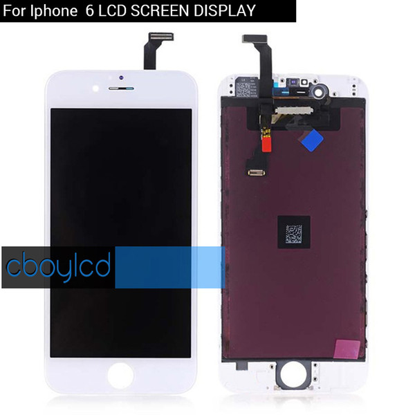 Bright Backlight LCD For iPhone 6 Grade A +++LCD Display With Touch Screen Digitizer & Free DHL Shipping