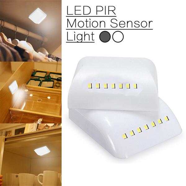 08 De Para Pilas Mini Infrarrojo Infrarrojo Luz LED Lámpara Movimiento Nocturna Sensor Compre Noche Armario ArmarioA52 AAA De Con Cajones Armario BoCrxedW