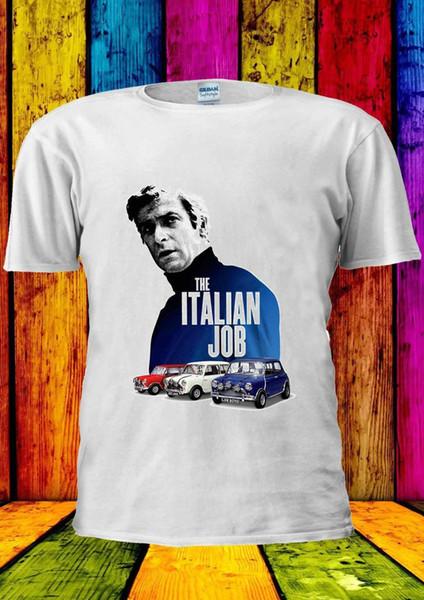 The Italian Job Classic Mini Cooper T-shirt Vest Tank Top Men Women Unisex 2151