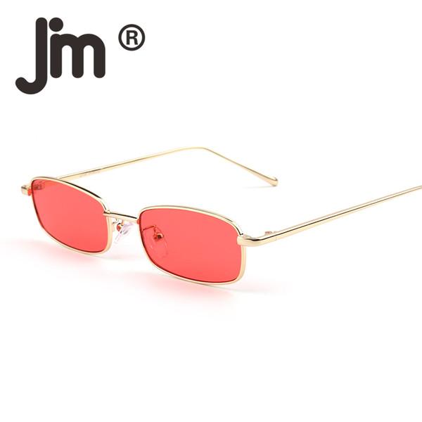 Occhiali da sole vintage tinti sottili sottili per occhiali da sole per donna. Designer di marca. Retro snelli occhiali da sole rettangolari