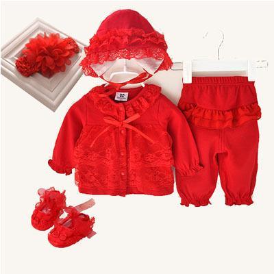 red set 5 pcs