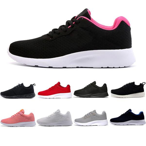 Venta caliente Tanjun Run Running Shoes hombres mujeres negro bajo ligero transpirable London Olympic Sports Sports Sneaker para hombre entrenador 36-44