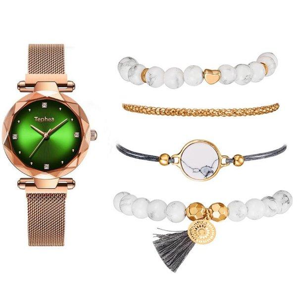 Bracelet or vert