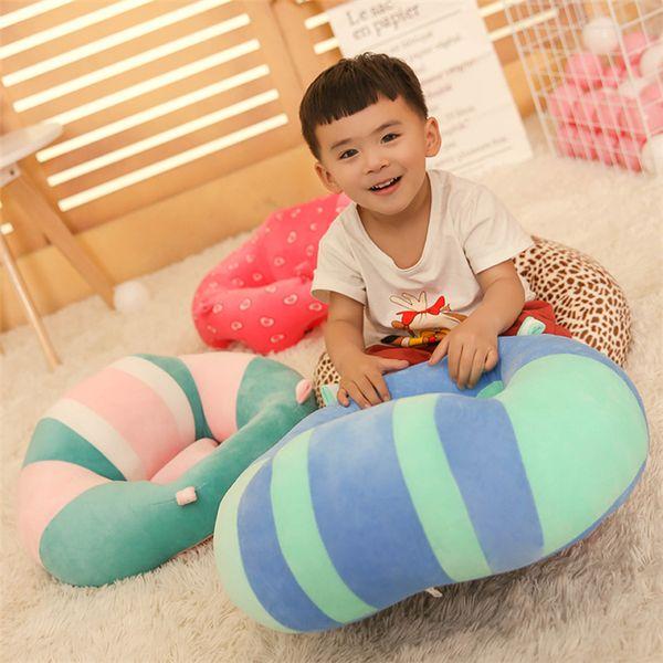 Bebek kanepe 13 karikatür hayvan dolması çocuk kanepe çocuk öğrenme oturma sandalye yumuşak dirsek besleme sandalye T3I5017