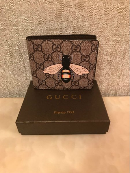 78acdf13bf2 2019 Fashion Men Wallets Small Wallet Men Money Purse Coin Bag Zipper Short  Male Minibgas Lou&Zwj;Is Vuitt&Zwj;On Supre&Zwj;Me Guc&Zwj;Ci Mens Front ...