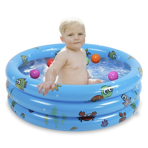 Summer Hot Portable Outdoor Children Basin Bathtub Kids Ball Pool Water Play Inflatable Pool Baby Swimming Baby Swimming